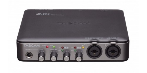 Tascam US-200 Interfaz de Audio