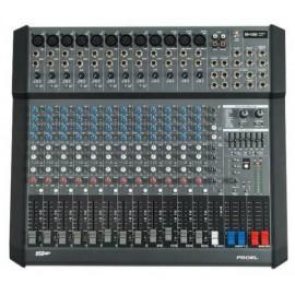 Proel M1000USB Mezcladora Amplificada