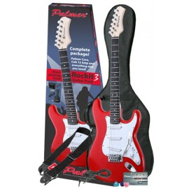 Palmer ROCKIT3 BK Pack de Guitarra Eléctrica