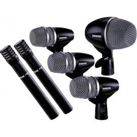 Shure PGDMK6-XLR Kit de Batería de 6 Micrófonos