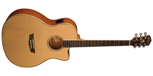 Washburn WG15SCE Guitarra Electroacústica Grand Auditorium