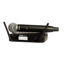 Shure GLXD24/BETA58A Sistema inalámbrico de mano