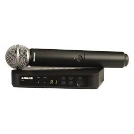 Shure BLX24/SM58 Sistema de Micrófono Inalámbrico