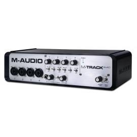 M-Audio M-Track QUAD Interfaz de Audio