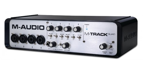 M-Audio M-Track QUAD Interfaz de Audio