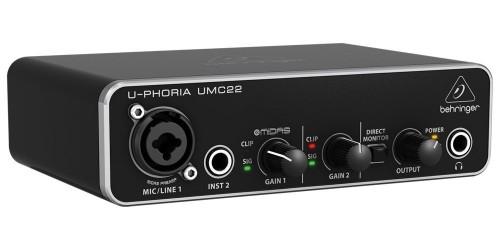Behringer U-PHORIA UMC22 Interfaz de Audio