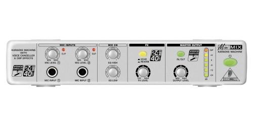 Behringer MINIMIX MIX800 Procesador para Karaoke