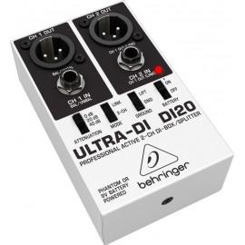 Behringer ULTRA-DI DI20 Caja Directa/Splitter