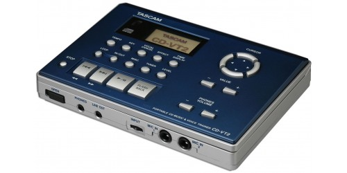 Tascam CD-VT2 Reproductor de CD y Vocal & Instrument Trainer