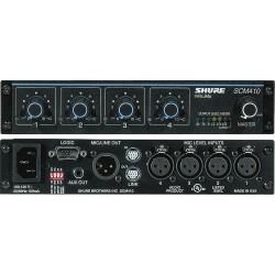 Shure SCM410E Mezclador automático de 4 canales