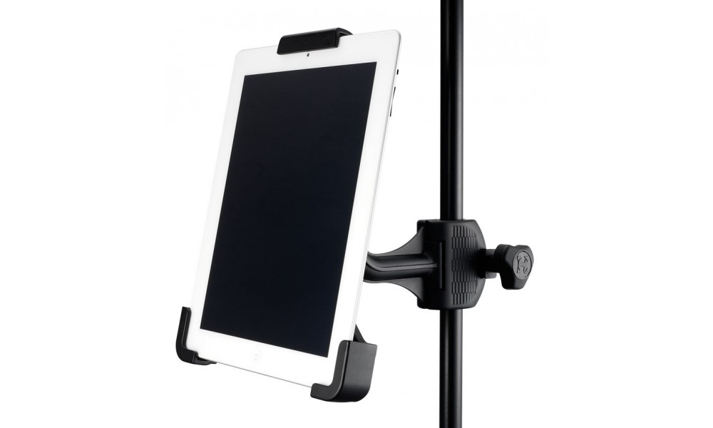 Hercules ha300 atril soporte para tablet plaza music per - Atril para tablet ...