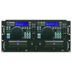 Tascam CD-X1700 Compactera MP3 doble de DJ