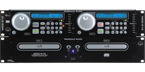 American Audio MCD-510 Reproductor de CD y Mp3 Dual