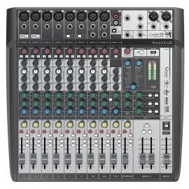 Soundcraft Signature 12 MTK Mezcladora Analógica de 12 Canales