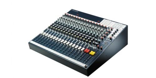 Soundcraft FX16ii Mezcladora Analógica de 26 entradas