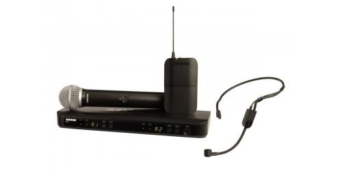 Shure BLX1288/P31 Sistema inalámbrico doble combinado