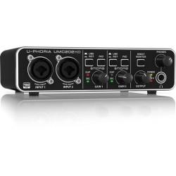 Behringer U-PHORIA UMC202 HD Interfaz de Audio