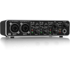 Behringer U-PHORIA UMC204 HD Interfaz de Audio