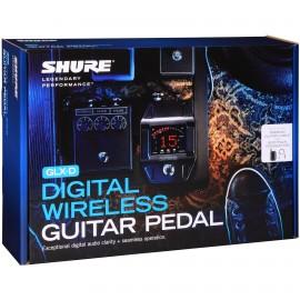 Shure GLXD16 Pedal de Guitarra y Bajo Inalámbrico