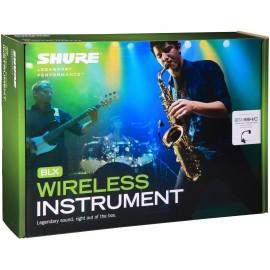 Shure BLX14/B98 Sistema inalámbrico para instrumentos