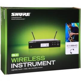 Shure BLX14R/B98 Sistema inalámbrico en rack para instrumentos