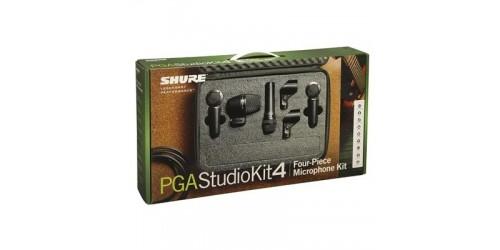 Shure PGASTUDIOKIT4 Kit de Micrófonos para Estudio