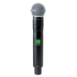 Shure UR2/BETA58 Micrófono Inalámbrico Vocal