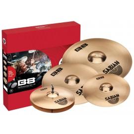 Sabian B8 Performance Pack + 14 Set de Platillos