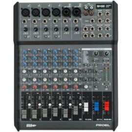 Proel M500USB Mezcladora Amplificada