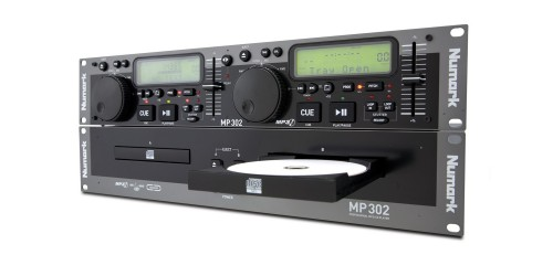 Numark MP302 Compactera doble de CD/Mp3