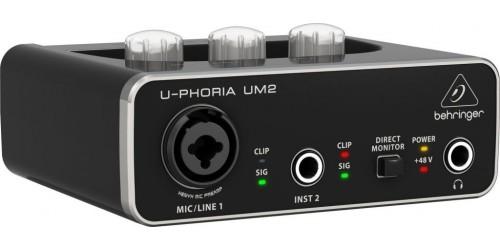 Behringer U-PHORIA UM2 Interfaz de audio