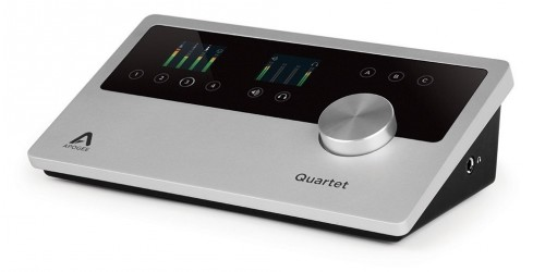 Apogee QUARTET Interfaz de audio para iPad y Mac
