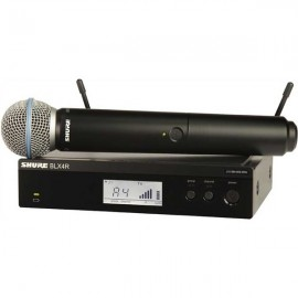 Shure BLX24R/B58 Sistema Inalámbrico Vocal en Rack