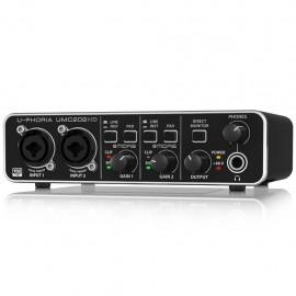 Behringer U-PHORIA UMC202 Interfaz de Audio