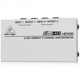 Behringer MICROHD HD400 Eliminador de zumbidos
