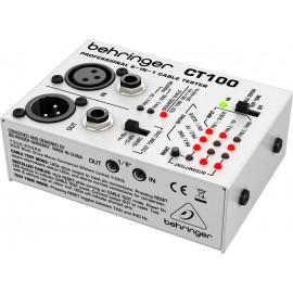 Behringer CABLE TESTER CT100 Testeador de Cables