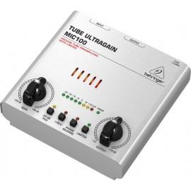 Behringer TUBE ULTRAGAIN MIC100 Preamplificador de micrófono