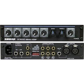Shure SCM262E Mezclador Estéreo