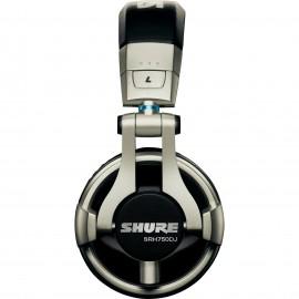 Shure SRH750DJ Audífonos profesionales para DJ