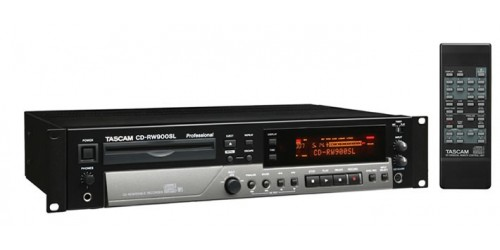 Tascam CD-RW900SL Grabador Reproductor de CD/mp3
