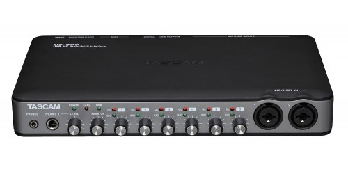 Tascam US-800 Interfaz de Audio 8 entradas