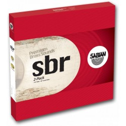 Sabian SBR5002 SBR-2PACK Set de 2 platillos