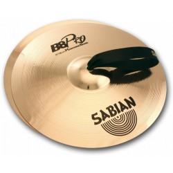 """Sabian 31422B B8 PRO Marching Band Platillo para Bandas de 14"""""""