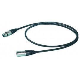 Proel Stage 275 LU 05 Cable de Micrófono 0.5 mts.