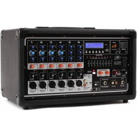 Peavey Pvi 6500 Power Mixer de 6 canales