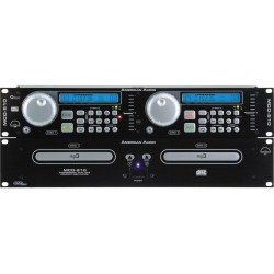 American Audio MCD-510 Reproductor de CD y Mp3 Dual