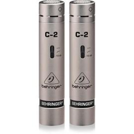 Behringer C-2 Par de Micrófonos de Condensador