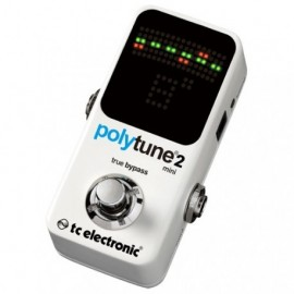 TC Electronic Polytune 2 Mini Pedal Afinador Compacto