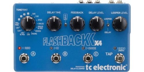 TC Electronic Flashback X4 Pedal de Delay