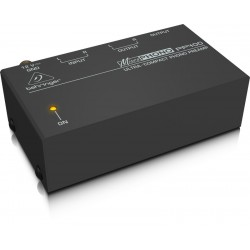 Behringer MICROPHONO PP400 Preamplificador de Phono